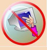 САНИТАРНЫЕ НОРМЫ Освещенность на поверхности стола в рабочей зоне должна быть 300 – 500 лк. Компьютерный класс должен быть оборудован системой кондиционирования воздуха или приточно-вытяжной вентиляции РЕЖИМ РАБОТЫ Непрерывная продолжительность работы на компьютере не должна превышать: Для учащихся 1 – 5 классов 10 - 15 мин Для учащихся 6 – 9 классов 20 - 25 мин ПРАВИЛА РАБОТЫ ЗА КОМПЬЮТЕРОМ: расстояние от экрана до глаз 70 – 80 см. вертикально прямая спина плечи опущены и расслаблены локтевые, тазобедренные, коленные суставы под прямым углом при ухудшении самочувствия (резь в глазах, резкое ухудшение зрения, боль в пальцах, усиление сердцебиения) немедленно покинуть рабочее место, сообщить преподавателю и обратиться к врачу во время учебных занятий выполнять все требования преподавателя (лаборанта)Не трогайте экран монитора даже чистыми руками – на нем все равно останутся следы (отпечатки пальцев)