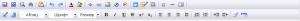 Визуальный редактор 300x21 Как добавить материал на uCoz